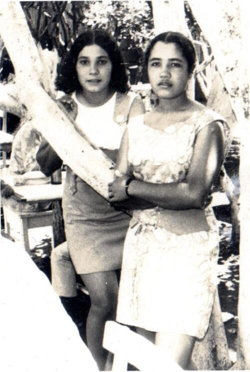 Alma Rosa y Marisela Suárez Huertas