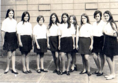 Ana Daisy Loría Jiménez y compañeras