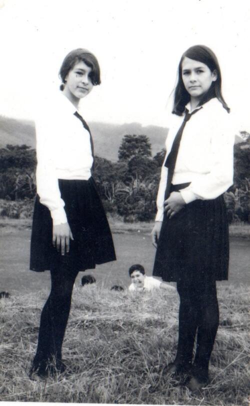 Ana Lorena Valerio y Emilia Castillo