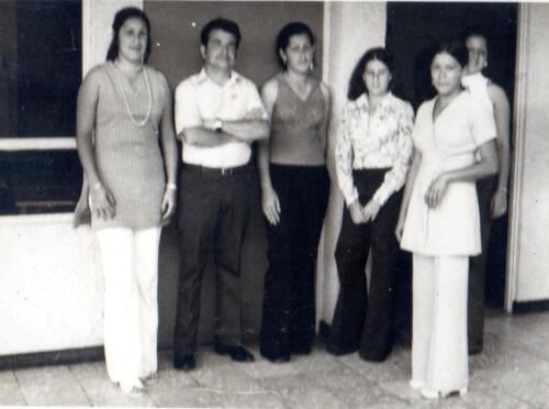 Daisy Roxana Güell Ruiz don Beltoni,  Yolanda Andrea Chaves Badilla, .... Ana Rita Mora.