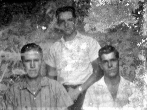A la izquierda  Bertano Villalobos, centro Clever Méndez,derecha Trino Rojas Esquivel